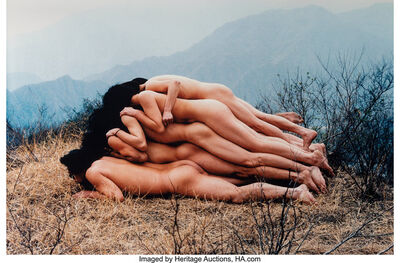 Cang Xin 苍鑫, 'To Add One Meter to an Anonymous Mountain', 1995