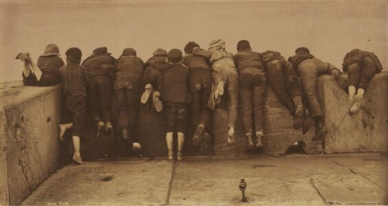 Frank Meadow Sutcliffe, 'Excitement', 1888