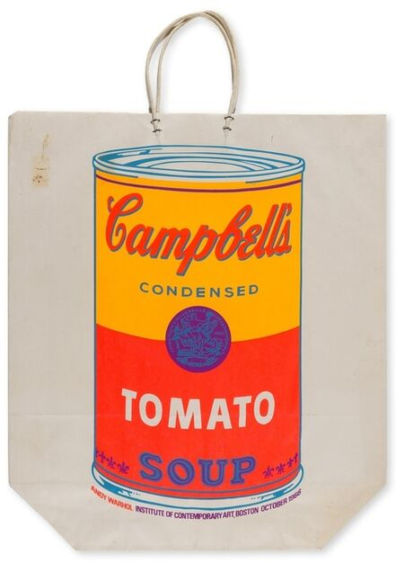 Andy Warhol, 'Campbell's Soup Can (Tomato) (Feldman', 1966