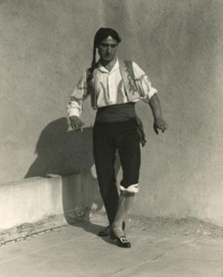 Edward Weston, 'Vicente Escudero, Flamenco Dancer', California 1935