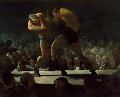 George Wesley Bellows, 'Club Night', 1907