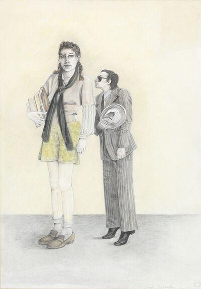 Birgit Jürgenssen, 'Großes Mädchen / Big Girl', 1975