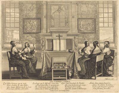 Abraham Bosse, 'The Wise Virgins at Prayer'