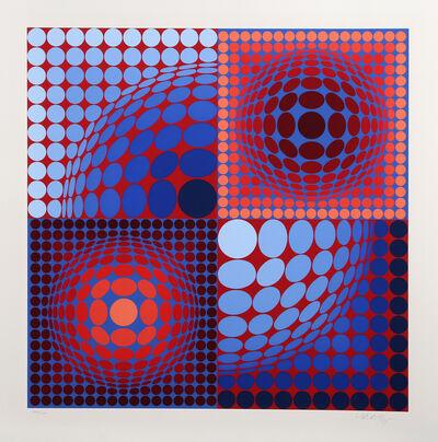 Victor Vasarely, 'Novega', ca. 1980