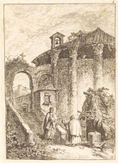 Hubert Robert, 'The Ancient Temple'