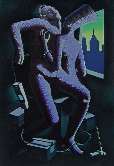 Mark Kostabi, 'Close Call', 1986