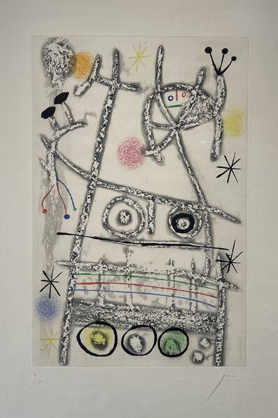 Joan Miró, 'Lers Forestiers', 1958