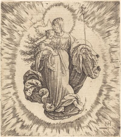 Master N.H. with the Dagger, 'Madonna on a Crescent'