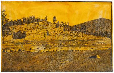 Mark Mahosky, 'Little Round Top, Gettysburg', 1986