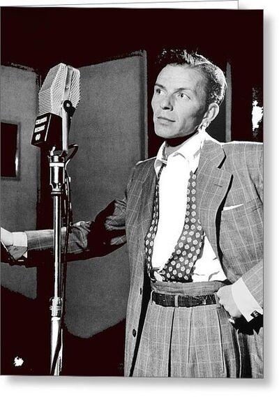 William Gottlieb, 'Frank Sinatra, Liederkranz Hall New York City ', 1947