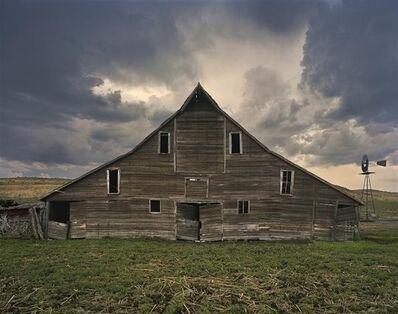 Andrew Moore, 'Cash Maier Barn, Shadbolt Ranch, Cherry County, Wyoming', 2011