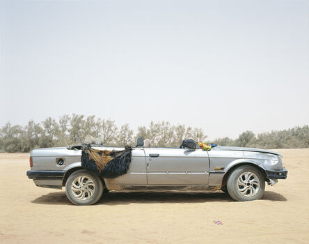 Philippe Dudouit, 'Ubari, Southern Libya, 2015. Tuareg tribal militia group vehicle.', 2015