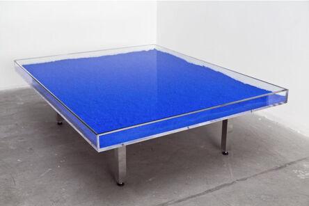 Yves Klein, 'Table Bleue', 1961-63