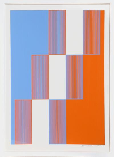 Richard Anuszkiewicz, 'Celebrate New York', 1973