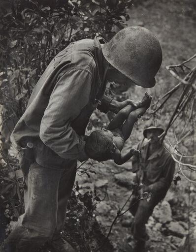 W. Eugene Smith, 'Saipan (Soldier Holding Baby)', 1944