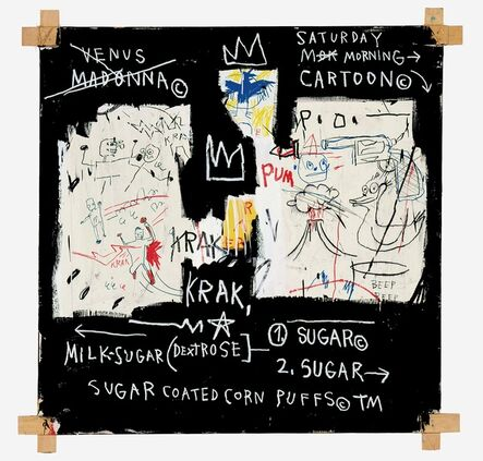Jean-Michel Basquiat, 'A Panel of Experts', 1982