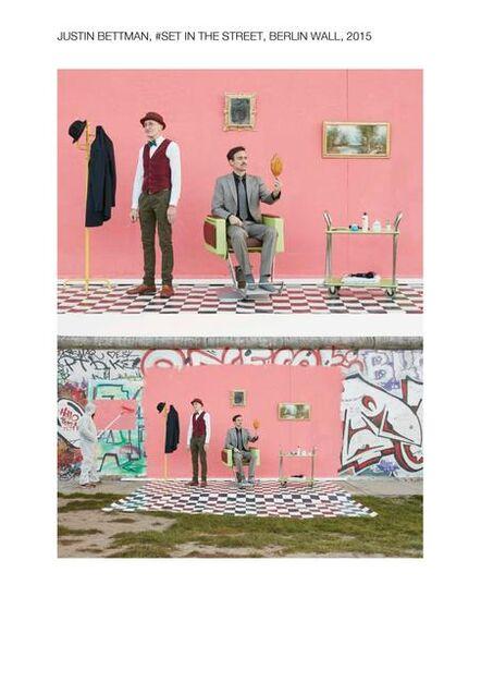 Justin Bettman, '#SetInTheStreet Berlin Wall', 2015