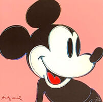 Andy Warhol, 'Mickey Mouse (Rose)', 1986