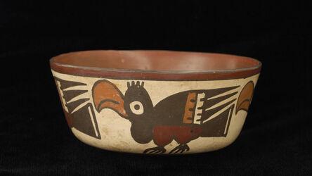 'Bowl with profile birds', 100 BCE-600 CE