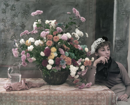 Tony Vaccaro, 'After Degas: Woman and Flowers, New York City 1960', 1960
