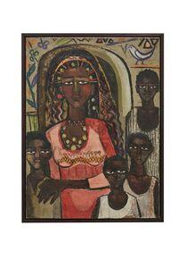 Gazbia Sirry, 'Portrait of a Nubian Family', 1962