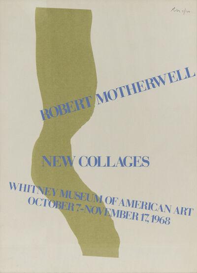 Robert Motherwell, 'Whitney Museum Poster', 1968