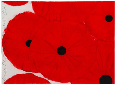 Donald Sultan, 'Seven Reds', 2005