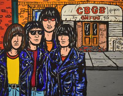 Marina Marchand, 'Ramones at CBGB', 2017