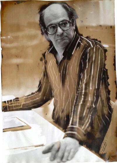 Ute Schendel, 'Mauricio Kagel (Photo taken: Hamburg 1971/ toned Frankfurt am Main 1983, Vintage', 1971