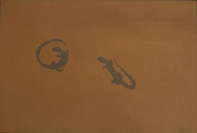 Piero Pizzi Cannella, 'Senza titolo (lucertole)', 1984