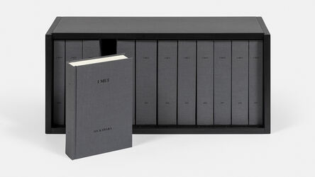 On Kawara, 'I MET', Produced and published in 2004 by Editions Micheline Szwajcer & Michèle Didier