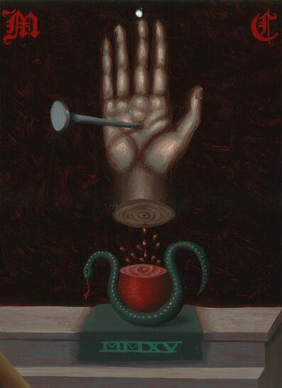 Matthew Couper, 'Mnemonic Monogram 1, Hand-snake', 2015