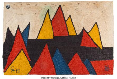 Alexander Calder, 'Pyramids Tapestry', 1975