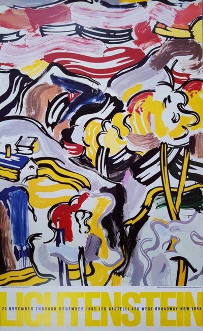 Roy Lichtenstein, 'Landscape with Red Sky Poster', 1985