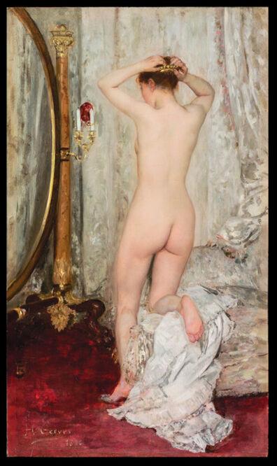 Henri Gervex, 'Nu devant un Psyché', 1886