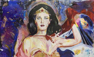 Sedef Gali, 'Wonder Woman, Pop Art', 2017