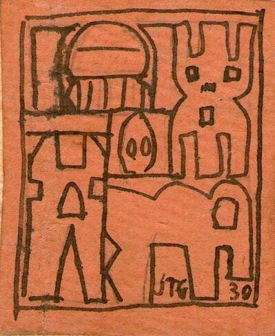 Joaquín Torres-García, 'Constructivo', 1930