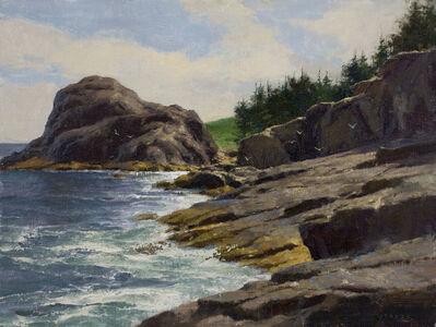 Donald W. Demers, 'Toward Gull Rock, Monhegan Island, Maine', 2016