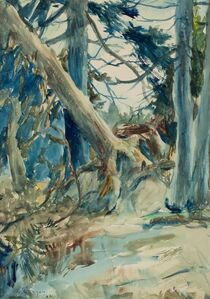 Frank Weston Benson, 'Forest Interior', 1922