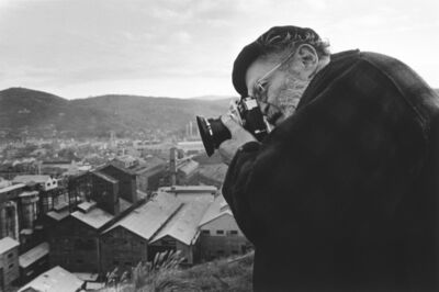 Takeshi Ishikawa, 'Eugene Smith photographing the Chisso factory in Minamata from the hill behind the factory', 1971