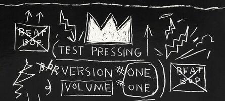Jean-Michel Basquiat, 'Basquiat Beat Bop Vinyl Record', 2001