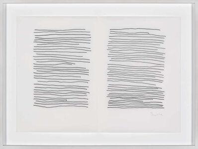 Irma Blank, 'Second life E5', 2018