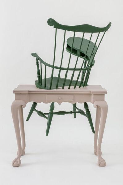 Sam Durant, 'Transcendental (Wheatley's Desk, Emerson's Chair)', 2016