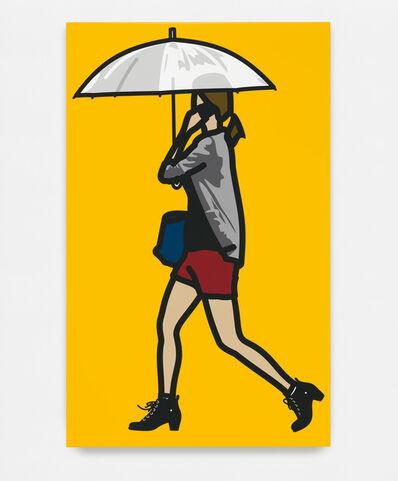 Julian Opie, 'Plastic umbrella.', 2014