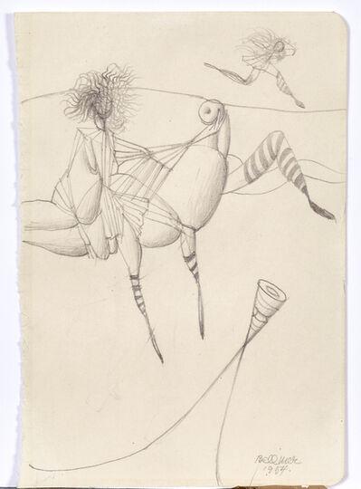 Hans Bellmer, 'ohne Titel', 1954