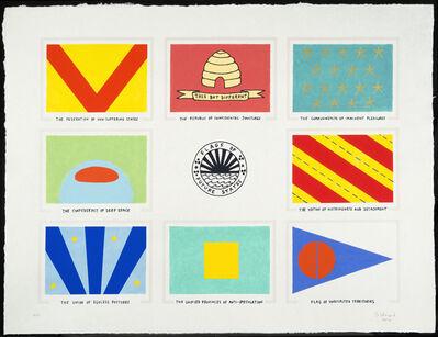 Dahlia Elsayed, 'Flags of Future States', 2014