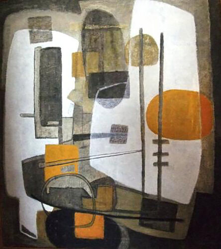 Zora Staack, 'Abstract Composition', 1958