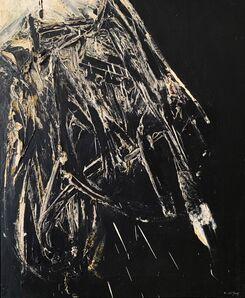 Rafael Canogar, 'Homenaje a Velázquez', 1960