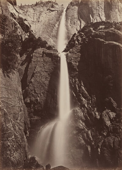 Carleton E. Watkins, ' Yosemite Falls, View from the Bottom', 1878