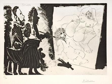 Pablo Picasso, 'Patron et sa Suite en Visite à l'Atelier ', 1968